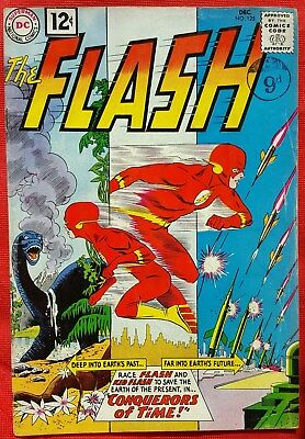 FLASH 125 DC Silver Age 1961 First appearance Cosmic Treadmill