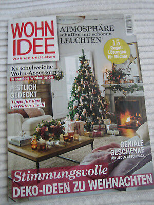 zeitschrift wohnidee 11 2017 eur 1 00 picclick de. Black Bedroom Furniture Sets. Home Design Ideas