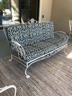 Wrought Iron Patio Furniture - Vintage by Saltorini - 1930