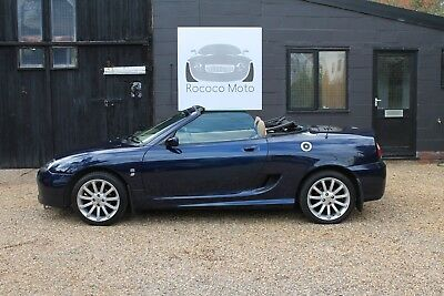 2004 Mg Tf 135, Royal Blue, 34,000 Miles, Fsh, New Cambelt, Just Serviced,