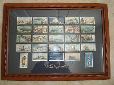 Antique Whaling Cigarette Card Collection