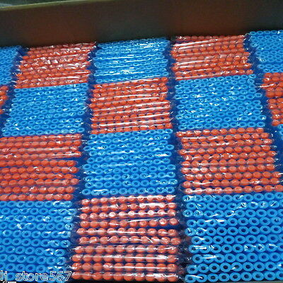 400x Bullet Darts For NERF Kids Toy Gun N-Strike Round Head Blasters #S Sky Blue