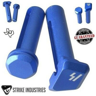 Strike Industries ULTRA LIGHT Enhanced Extended Take Down Front & Rear Pins BLUE