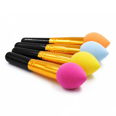Pro Puff Powder Blusher Sponge Soft Face Cosmetic Makeup Brushes Beauty Tool