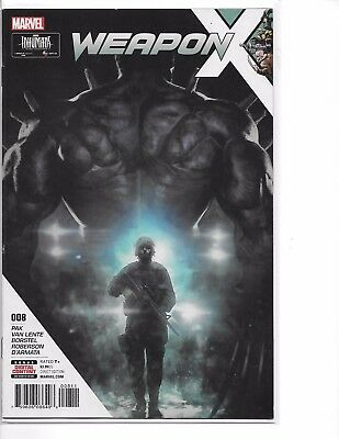 WEAPON X #8 WEAPON H  NM Marvel Sold Out!