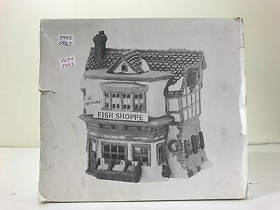Department 56 Dickens Village 59269 The Mermaid Fish Shoppe Christmas