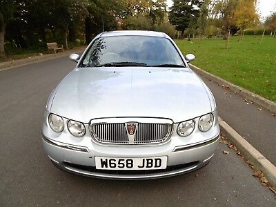 2000 Rover 75 Cdt Diesel Genuine 26,750 Miles Immaculate Condition - One Owner