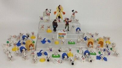 Vintage 1990's LOT (81) Disney 101 Dalmatians Toy Dog Puppy Figures Cake Toppers