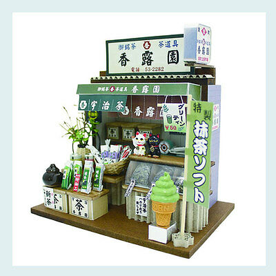 Traditional Japanese Store Miniature Kit Diorama Model Brand-New Japan