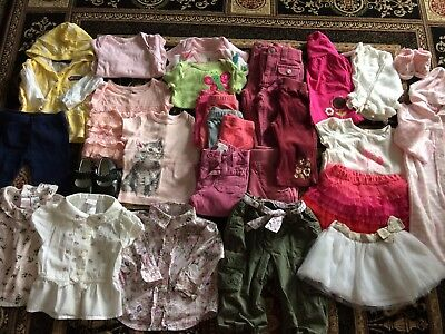 Mixed Lot Baby Girl 6-12 Months Baby Gap Janie & Jack Black Mary Janes Sonoma Co