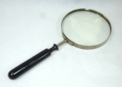 XXL Large Rare MAGNIFYING GLASS around 1870