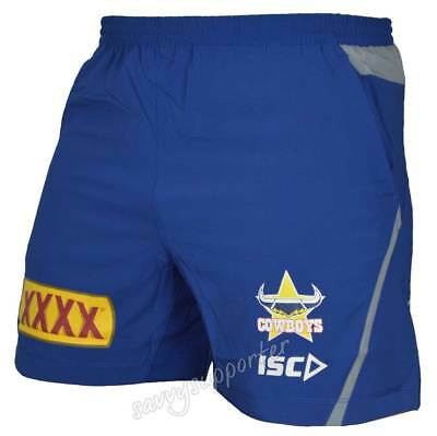 North Queensland Cowboys 2018 Training Shorts Sizes Adults Kids Sizes BNWT