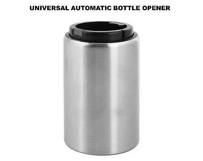 Automatic Beer Bottle Opener - Stainless Steel, Portable, Magnetic, Easy to Use