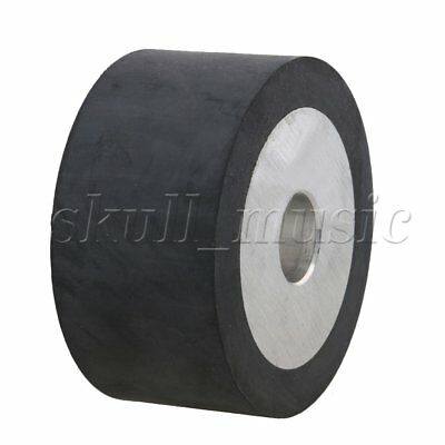 100mm Aluminum Core Belt Grinder Rubber Wheel for Bearings Belt Grinder