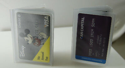 Plastic Wallet Insert 6 pages (SET OF 20 )Card/Picture Holder
