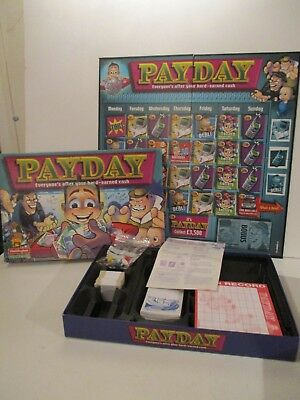 Pay Day Board Game By Waddingtons C.2000 100% Complete Good Condition