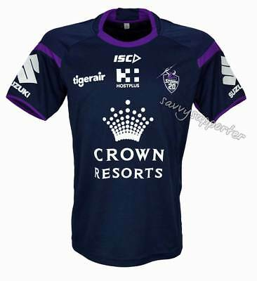 Melbourne Storm 2018 Midnight Marle Training Shirt Adults Kids Sizes