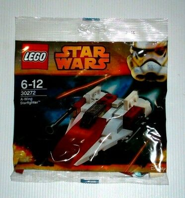 LEGO Genuine Star Wars 30272 A-Wing Starfighter poly bags brand new sealed