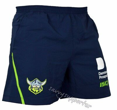 Canberra Raiders 2018 NRL Training Shorts Sizes Adults and Kids Sizes
