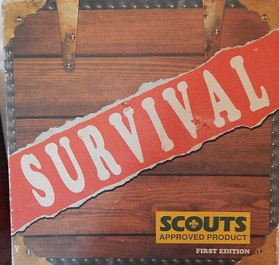 SURVIVAL BOard Game Edition `Scouts Approved` 1st Edition