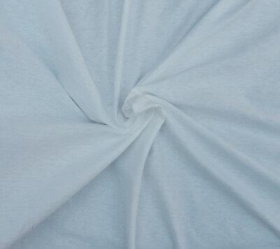 3d886f48d83 Dyeable Cotton Jersey Knit Fabric by Yard Undyed PFD Heavy Weight USA 8/12/