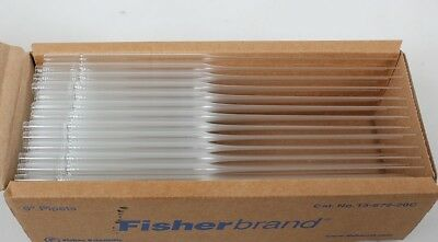 "1 Box (Lot of 144) FisherBrand Disposable 9"" Pasteur Pipets 13-678-20C"
