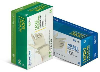 BlueJay Powder Free Latex Gloves | 1000/Carton (FREE SHIPPING)