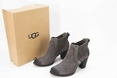 70f94807fdb *NEW* IN BOX $198 Ugg Cobie II Gray Suede Leather Ankle Boot size 9