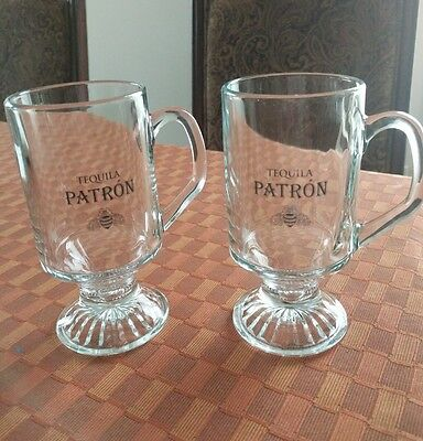 Tequila patron glass of 2