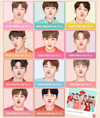 WANNA ONE X innisfree LIPBALM LIMITED EDTION+1 PHOTO CARD - OFFICIAL