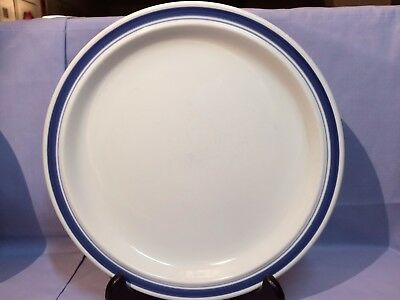 "Set/3 ROYAL DOULTON Lambethware 10-1/2"" DINNER PLATES 'Biscay' Pattern"