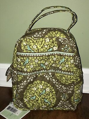 Vera Bradley SITTIN IN A TREE LET'S DO LUNCH Work/School Case NWT Made In USA