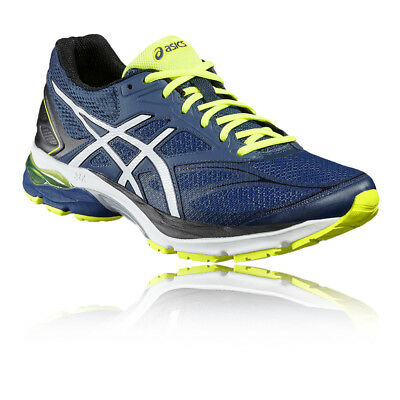 Asics Gel-Pulse 8 Mens Green Blue Cushioned Running Sports Shoes Trainers