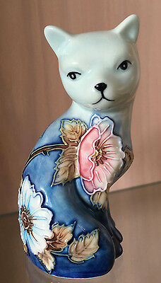 Old Tupton Ware - Little Blue Cat - Fine Porcelain - Gift Box - My Last One -