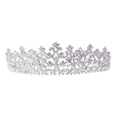 Wedding Rhinestone Bridal Hair Headband Crown Tiara Prom Pageant Engagement Gift