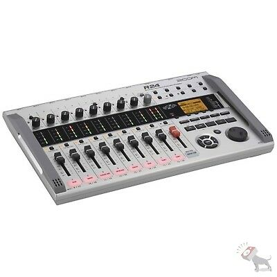 Zoom R24 Simultaneous Multitrack Drum Machine Recorder Interface Controller