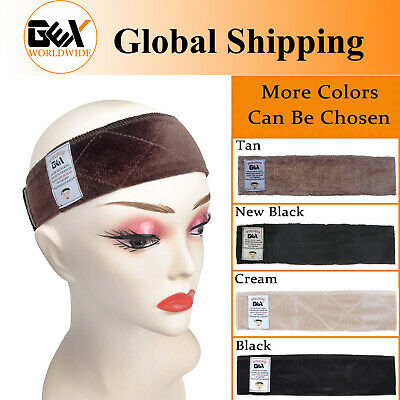 GEX Flexible Velvet Wig Grip Scarf Head Hair Wig Band Adjustable Fastern 4Colors