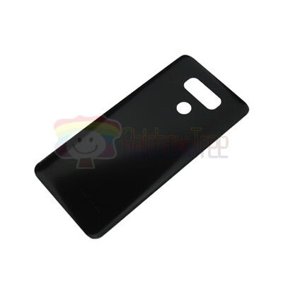 OEM BLACK Battery Glass Cover Back Door With Tape For LG G6 H870 H872 LS993 G600