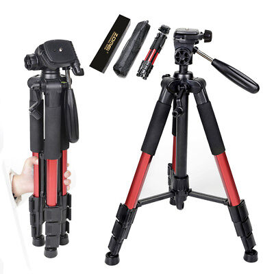 ZOMEI Q111 Professional Aluminum Tripod Pan Head for SLR DSLR Digital Camera Red