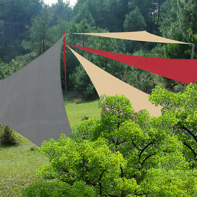 Shade Sail Waterproof Sun Canopy Patio Awning Garden UV Block Greenbay 3m/3.6m