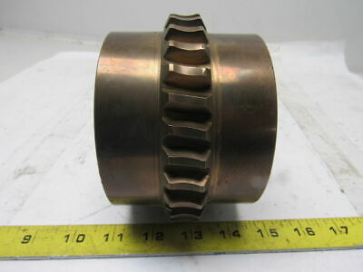"SC-P809731 Brass Worm Gear 30 Tooth 3-7/16"" Bore"