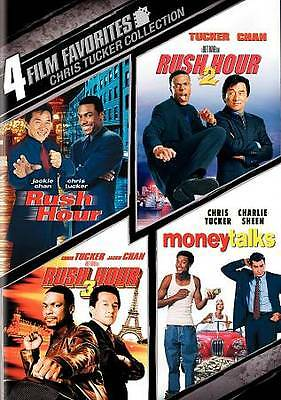 Chris Tucker Collection: 4 Film Favorites (DVD, 2009, 2-Disc Set) Jackie Chan