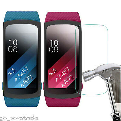 5PC HD Film Intelligent LCD Screen Protective for Samsung Gear Fit 2 SM-R360A
