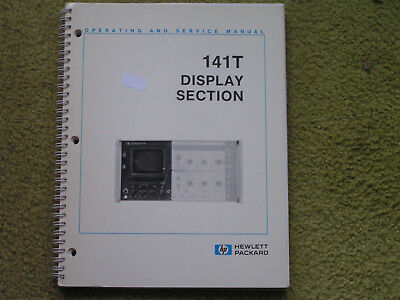 HP 141 Display Section Manual