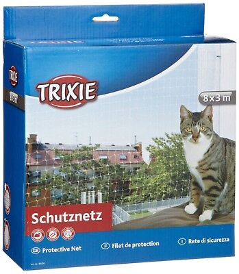 Trixie Transparent Safety Net Helps Prevent Cat Jumping From The Balcony