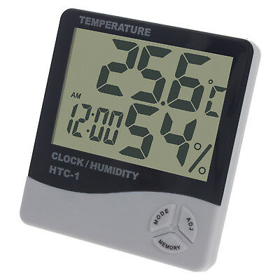 Digital LCD Display Thermo-Hygrometer Raumklima Luftfeuchtigkeit Innentemperatur