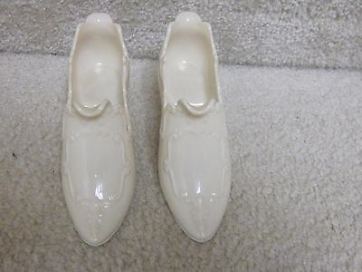 Vintage Lenox pair of slipper/shoes- never used,creamcolor,old