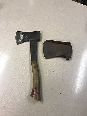 Vintage 1940's Boy Scouts Of America Hatchet By Bridgeport With Leather Sheath