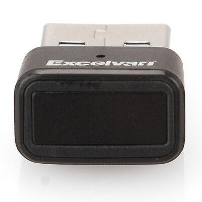 Mini Sicherheit USB Fingerprint Leser Reader Password Lock für Windows Desktop