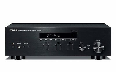 Yamaha R-N303BL Stereo Receiver with Wi-Fi, Bluetooth, Phono, AirPlay. Black